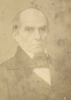 Photograph taken of an aging Daniel Webster
