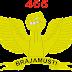 Logo Batalyon Komando (YONKO) 465 Paskhas - Brajamusti