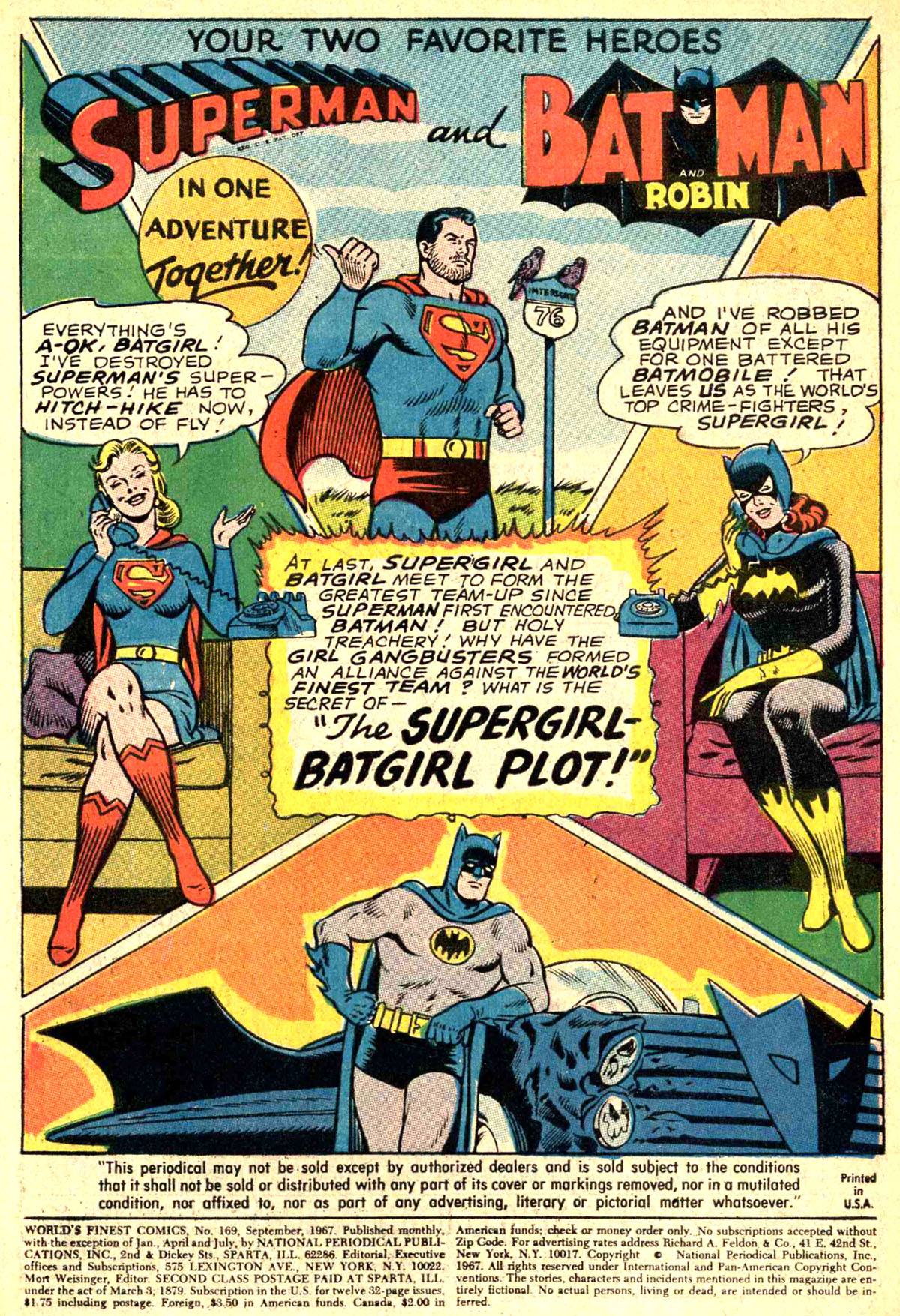 Read online World's Finest Comics comic -  Issue #169 - 3