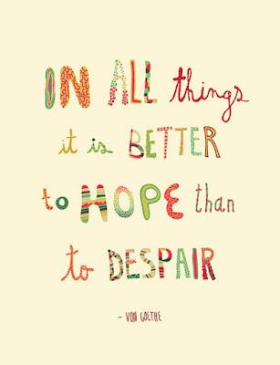 optimistic sayings