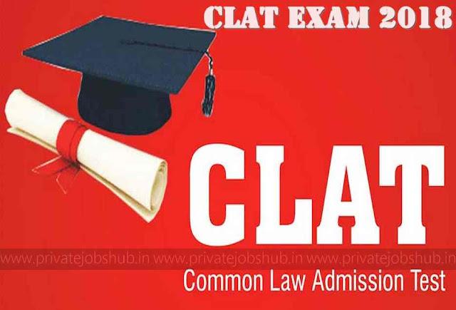 CLAT Exam 2018