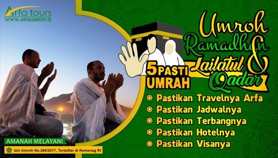 Harga Umroh Ramadhan Bekasi 2020 5 Pasti Umrah