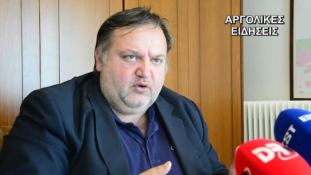 Άνοιξε το θέμα για διεκδικηση του Δήμου Άργους Μυκηνών ο Τάσσος Χειβιδόπουλος
