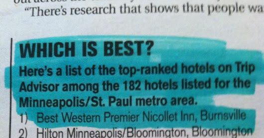 #1 Hotel in the Twin Cities