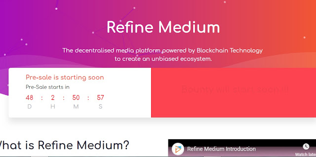 Refine Medium — The decentralized media platform powered by Blockchain Technology
