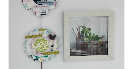Scrappy Friday - Home Deco @Sparklers DT