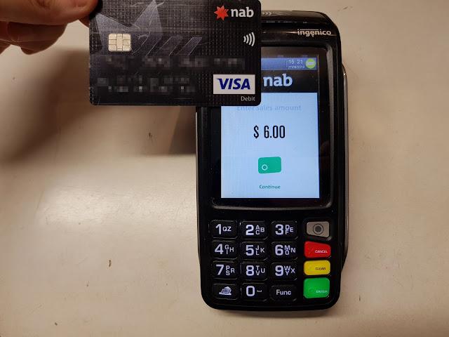 [打工。分享]在外面打工都會遇到的:信用卡機(POS機)基本使用方法 - 蝦米子。生活筆記本