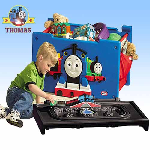 Keep Your Kids Bedroom Tidy With This Wonderful Luxury Toy Box: Toy Storage Boxes Ideas Thomas The Train Toy Box Furniture