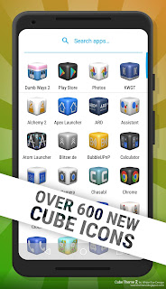 Cube Theme 2 Icon Pack - Screen2