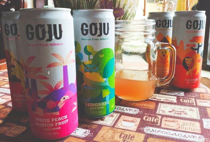 Trying GoJu Natural Fruit Infusion varieties