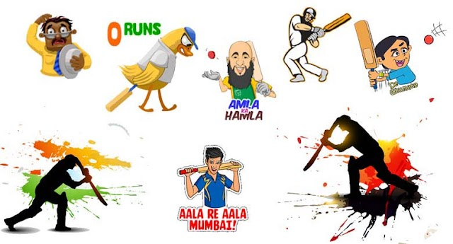 WhatsApp introduced Cricket Stickers To celebrate IPL 2019