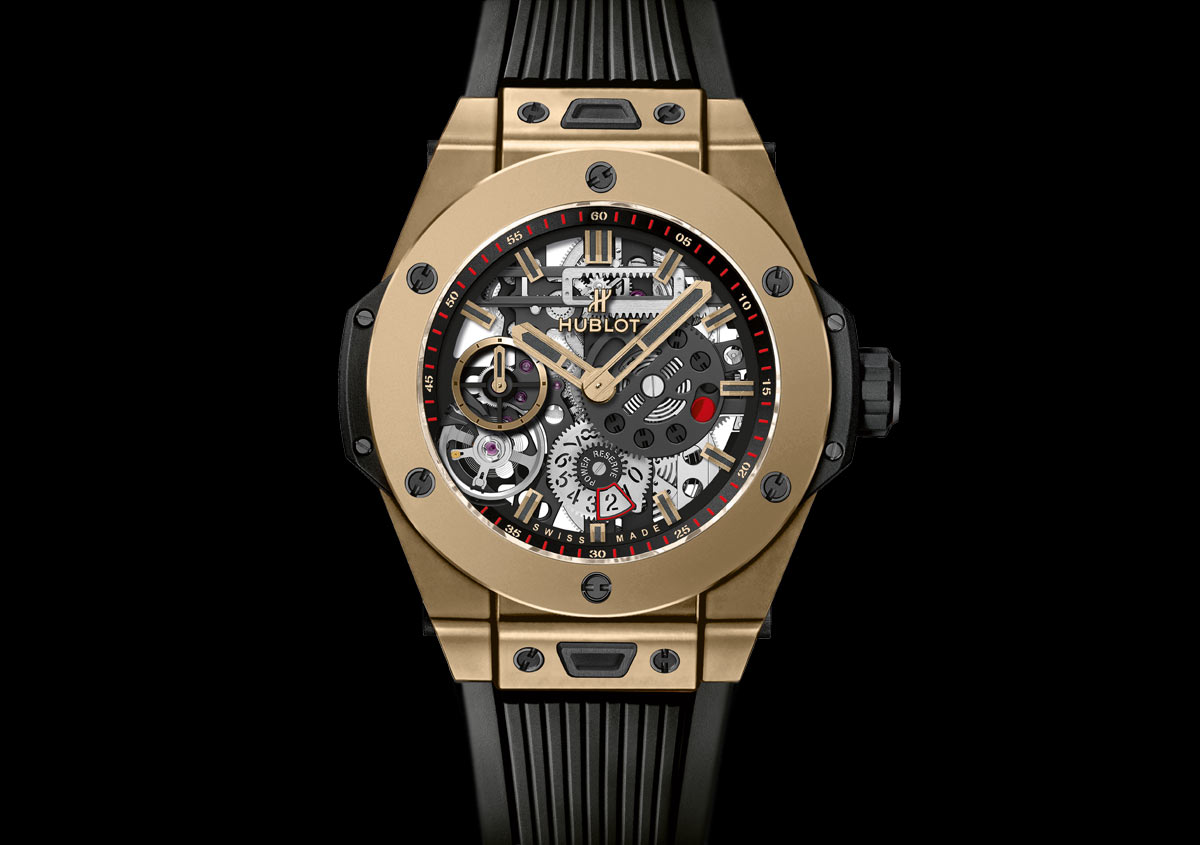 Hublot Big Bang Meca 10 Magic Gold Time And Watches