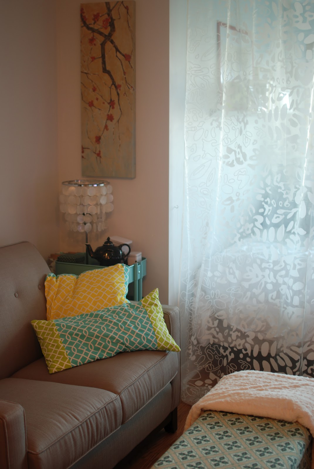 Waffling switching things up - Room divider curtain ideas ...
