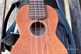 Martin S1 Soprano Ukulele sound hole