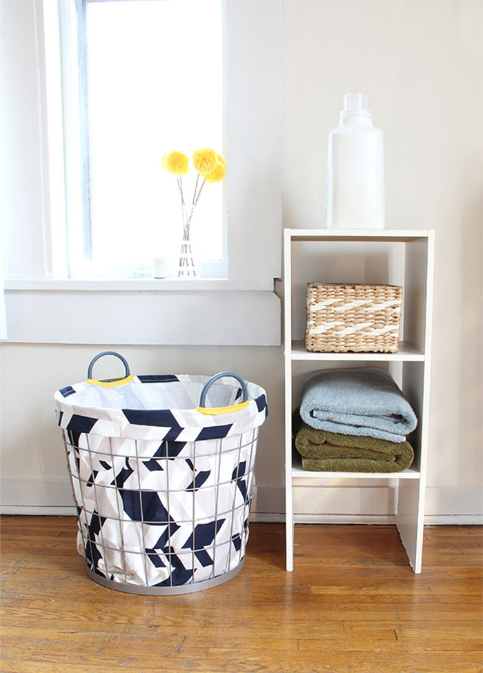 DIY to try # Laundry hamper - Ohoh Blog