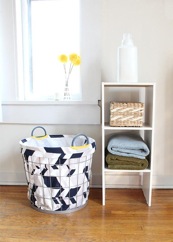 DIY to try # Laundry hamper - Ohoh Blog