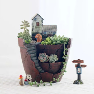 Unique Planter gifts for grandmother grandmas christmas 2016 ideas - Succulent or Herb Pots planter
