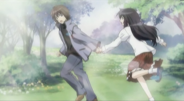 Hanbun No Tsuki Ga Noboru Sora di Rekomendasi Anime Romance - Drama Terbaik