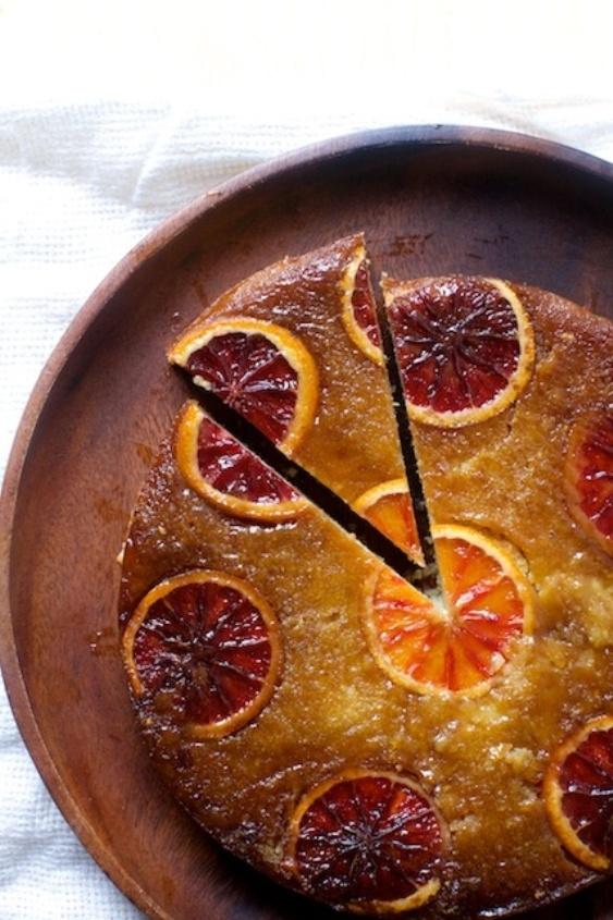 Blood Orange, Almond, Ricotta Cake - perfect for Passover dessert | Land of Honey