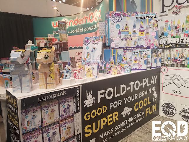 Paper Punk  - My Little Pony Toy Fair 2017