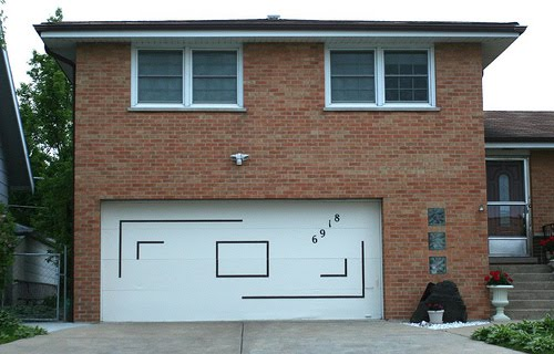 Never Ever Paint Murals On Your Garage Doors
