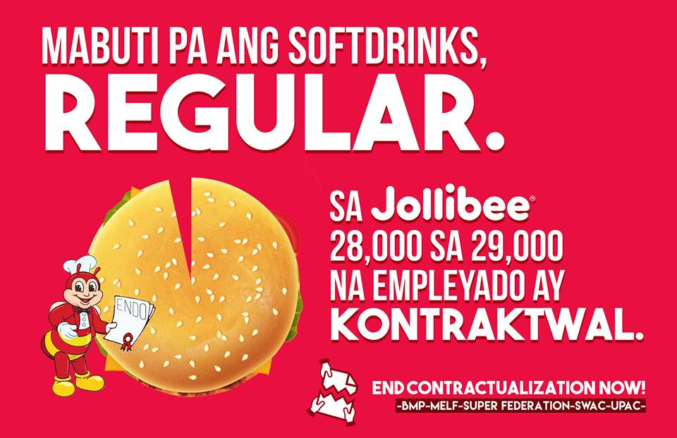 Jollibee contractualization