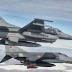 Δύο εικονικές αερομαχίες ελληνικών και τουρκικών μαχητικών πάνω από το Αιγαίο
