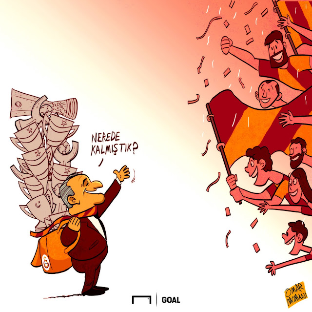 Fatih Terim cartoon
