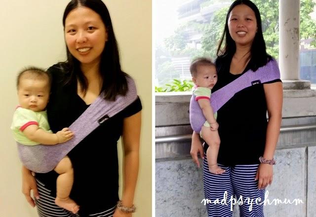 Madpsychmum Singapore Parenting Travel Blog Suppori Baby Sling