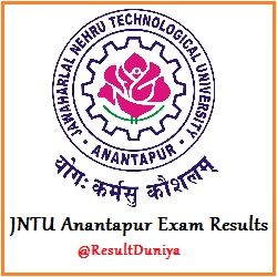 JNTU Anantapur B.Tech 2-1 2-2 3-1 3-2 4-1 4-2 Results