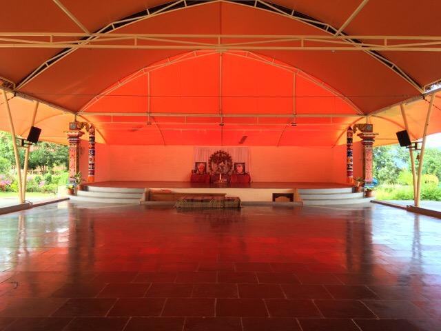 Sivananda Ashram Yoga Hall
