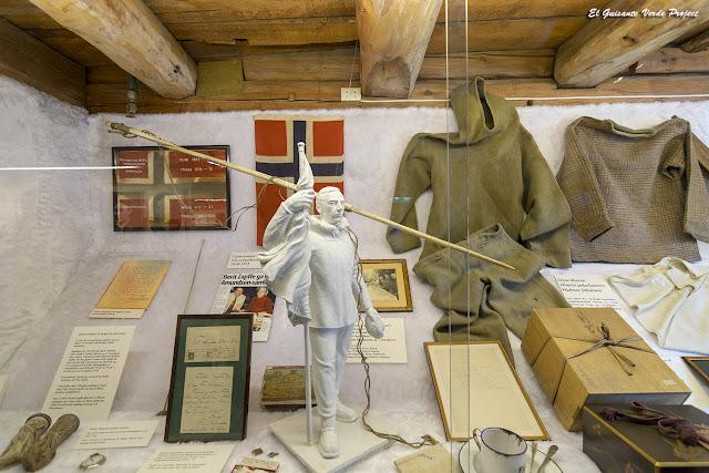 Amundsen en el Museo Polar, Tromsø - Noruega, por El Guisante Verde Project