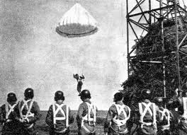 WW2 Cichociemni  in training (elite special operations Polish paratroopers)