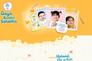 Kontes Foto My Baby Gaya Rambut Sehatku Berhadiah Voucher Belanja 4,5 Juta dan paket Produk