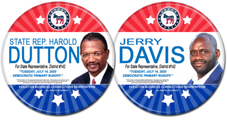 State Rep. Dutton and Jerry Davis are the Democratic Runoff Candidates for HD - 142