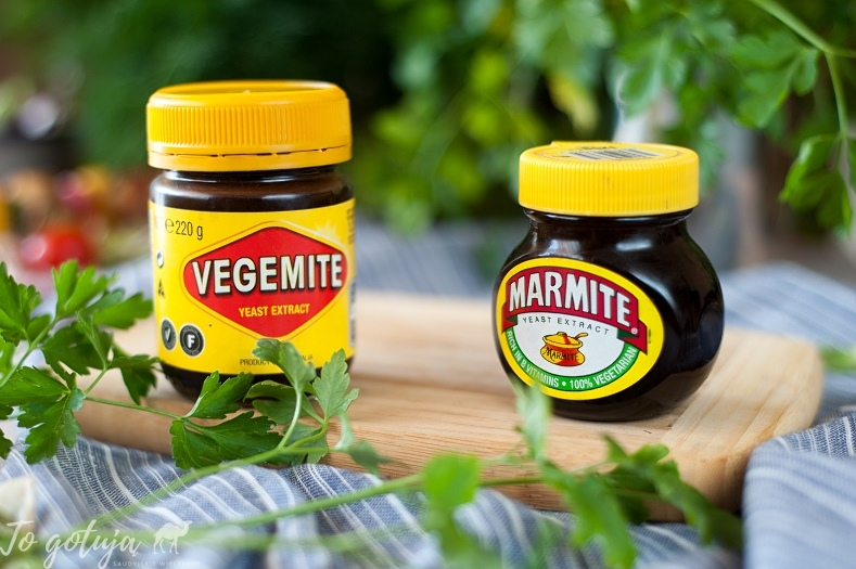 Marmite i Vegamite - co to jest i z czym to jesc