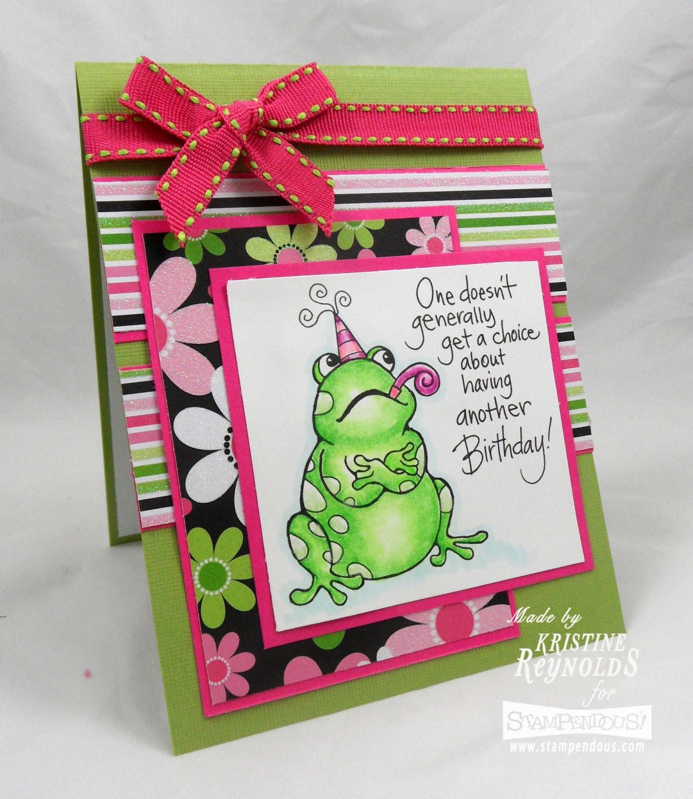 Stamping & Scrapping In California: Happy Birthday Janelle