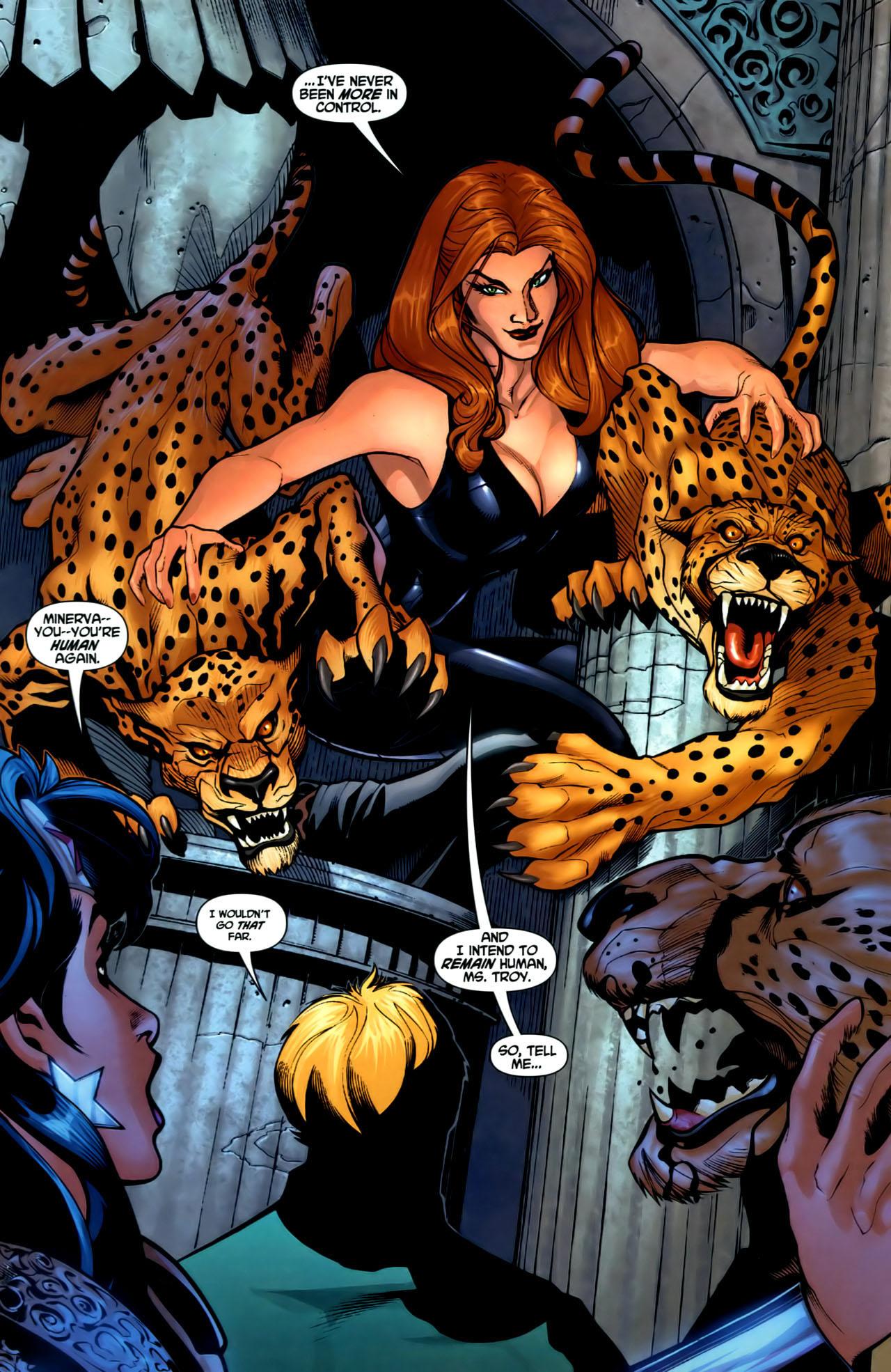 Read online Wonder Woman (2006) comic -  Issue #1 - 11