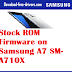 Stock ROM Firmware on Samsung A7 SM-A710X
