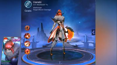 Skin Starlight Hanabi (Fiery Moth) Bulan April Mobile Legends: Bang Bang Terbaru 2019