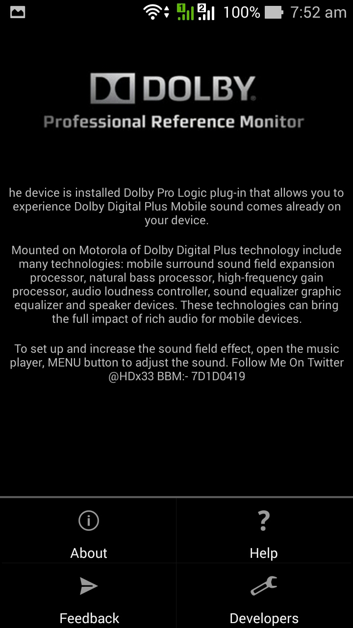 Dolby digital for android