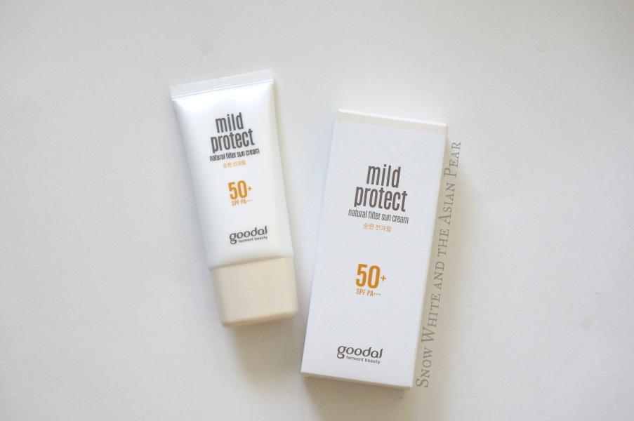 Goodal Mild Protect Natural Filter Sun Cream SPF50+ PA+++