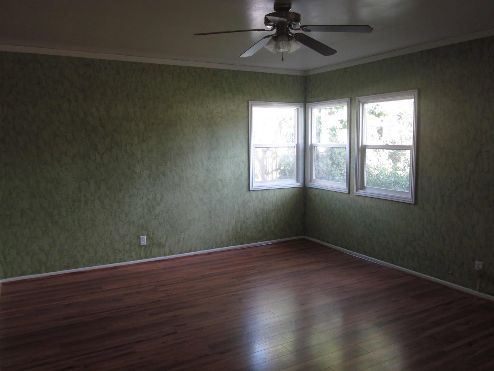 New House Girl: Master Bedroom--BEFORE--with the Green ...