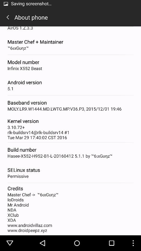 HASEE ROM for Infinix Zero3 X552 Beast | Techno Live