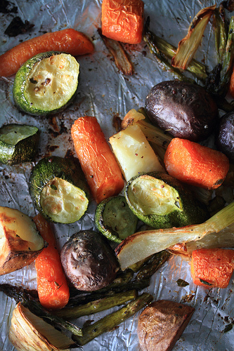 Eating Fabulously, Christopher Stewart, recipe, roasted root vegetables