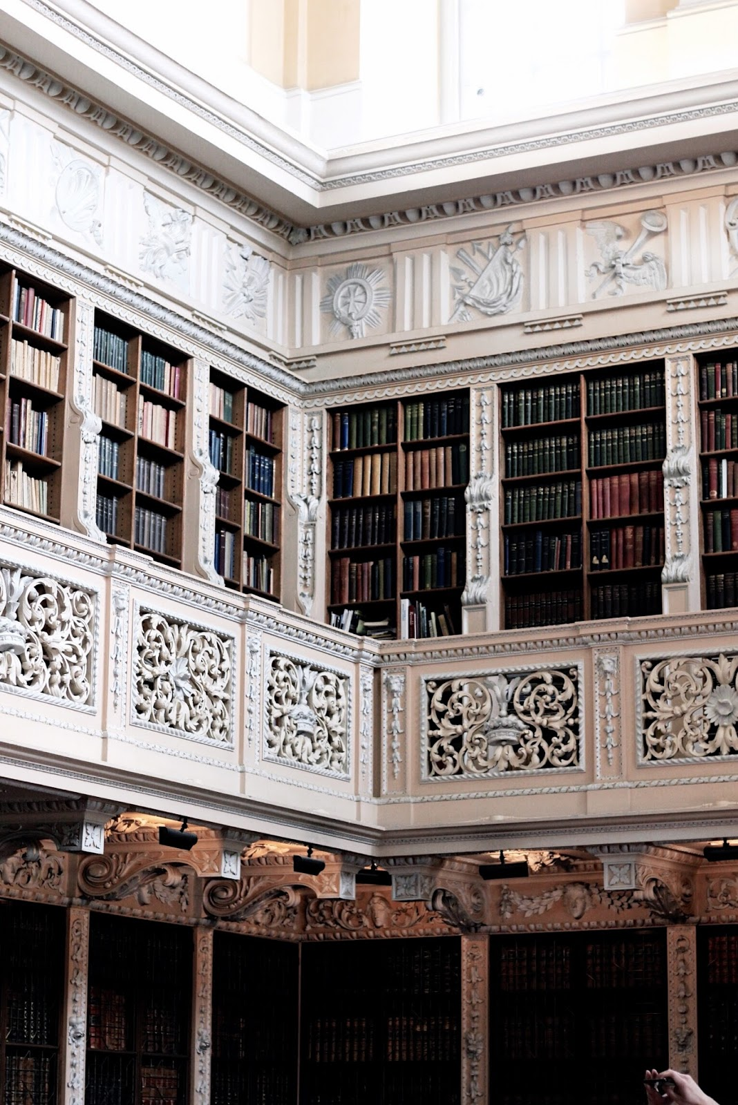 Blenheim Palace Library Photography