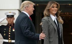 Melania Trump, traje, sastrería, blog moda masculina, moda masculina, traje cruzado, a medida, estilo, casa blanca, Donald Trump, Ralph Lauren,