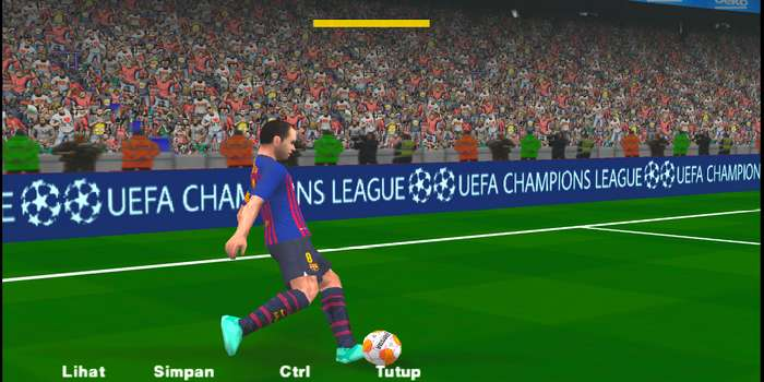 Adboards UEFA Champions League PES 2014 PSP (PPSSPP)