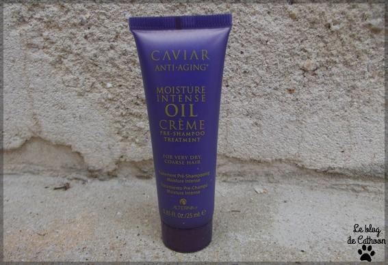Moisture Intense Oil Crème - Pré-shampoo Treatment - Caviar Anti-Aging