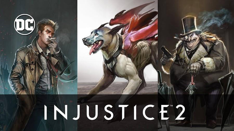 injustice 2 unused concept art constantine